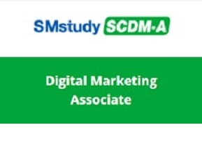 SMstudy® Certified Digital Marketing Associate
